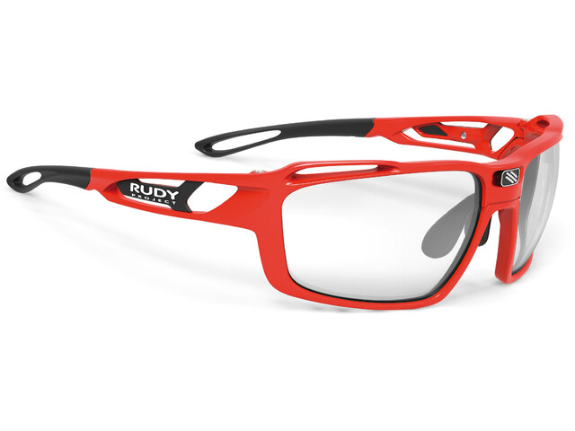 Rudy Project Sintryx Glasses Fire Red Gloss/ImpactX Photochromic 2 Black
